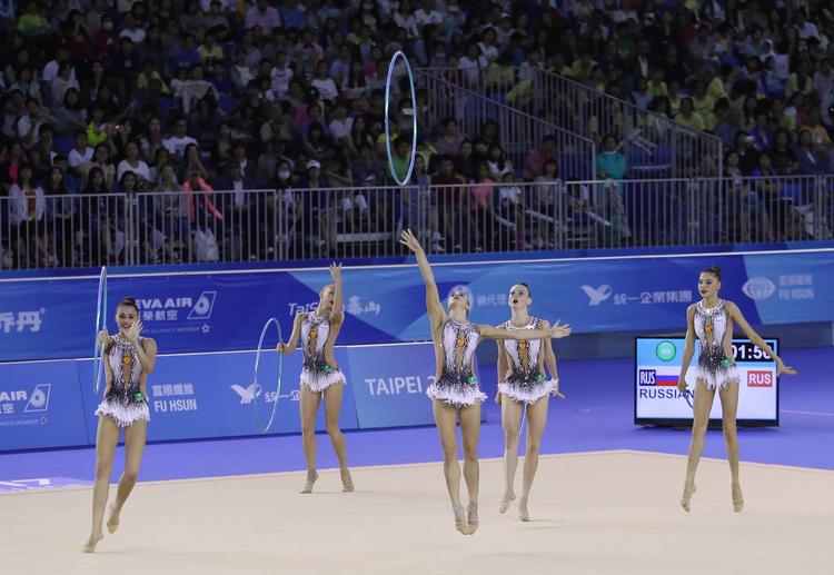 俄羅斯奪世大運韻律體操兩單項金牌(2)