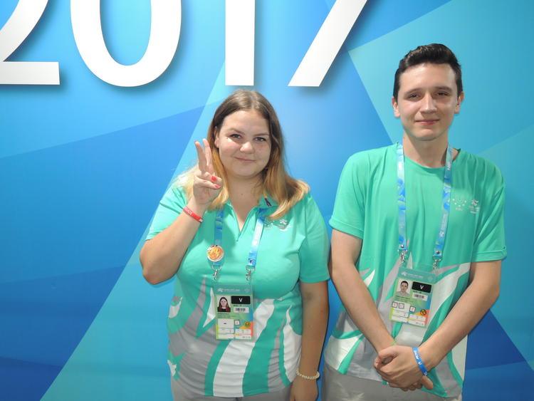 錯過素溪奧運 俄籍生樂當世大運志工