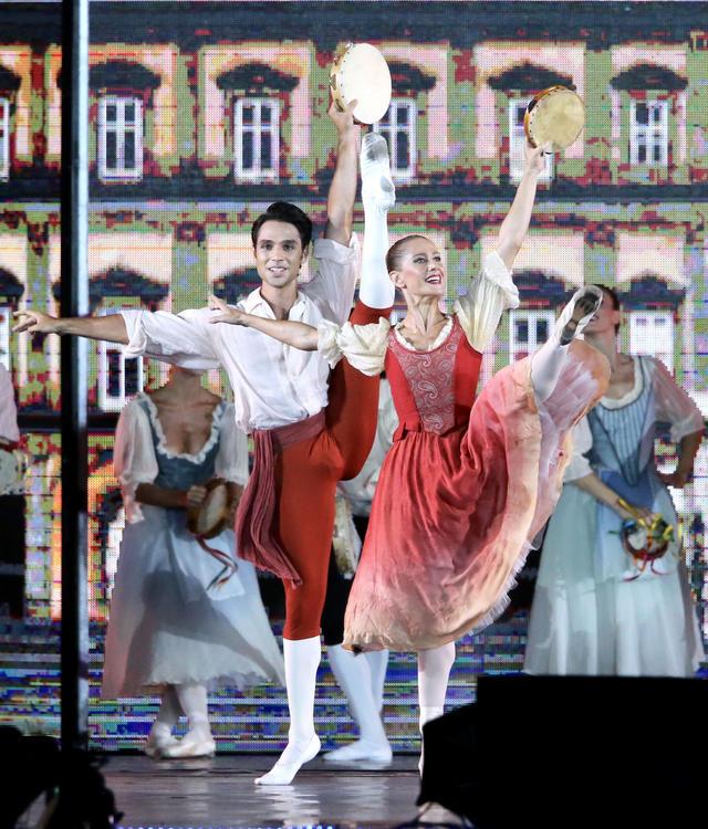 拿坡里接棒世大運  獻上義大利傳統歌舞