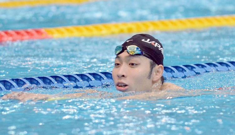 《游泳》萩野公介(Kosuke Hagino) 名將巡禮 | 世大運2017在台北 | 中央社即
