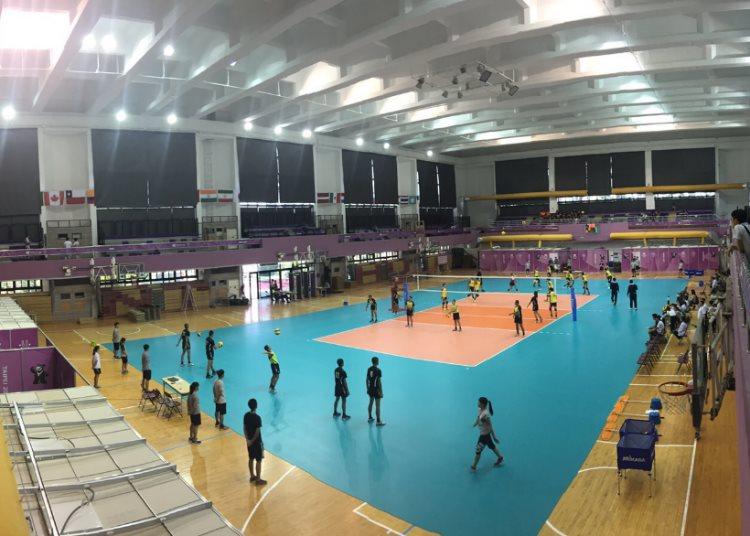 清華大學體育館