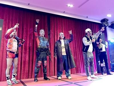老闆帶頭使壞 艾鳴尾牙率員工大玩cosplay樂慶五週年