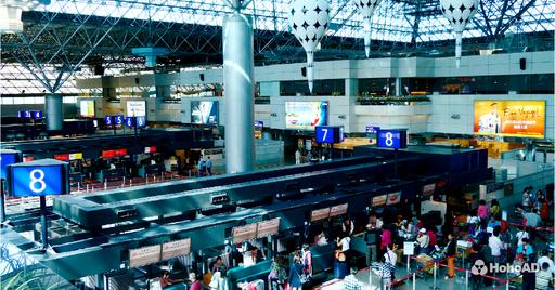 桃園國際機場年旅運量突破4000萬,成功晉升「A級機場」,未來廣告商機備受看好!