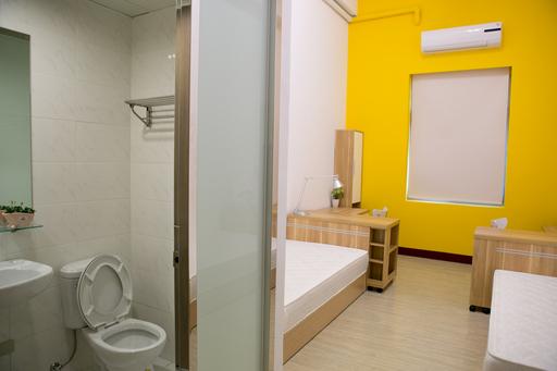 CIA宿舍將延續大學部套房式的美式風格,所有房間都設有乾濕分離的衛浴設備、個人專屬衣櫃及置物櫃