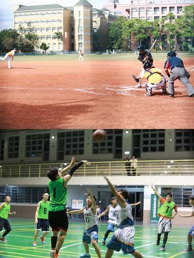 中金院及CIA校內設有室內多功能體育館,可供籃球、網球、羽毛球、排球等多種球類活動與競賽空間,鼓勵學生運動,培養健全身心