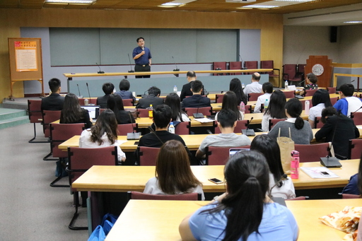 東吳大學社會學系系主任石計生教授於「新世代」暨「社會研究方法」成果發表會致詞