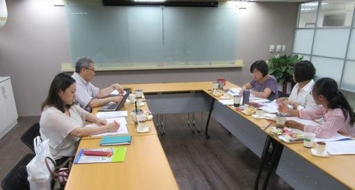 日本公益財團法人大學基準協會和台評會進行交流