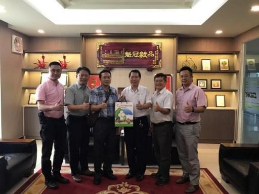 拜訪越南台灣商會聯合總會蔡文瑞主任委員