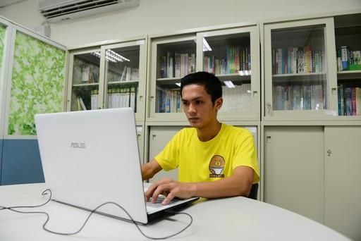 美和科大食品營養系越南境外專班學生透過線上實際操作磨課師課程