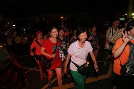 開始起跑共3.2km
