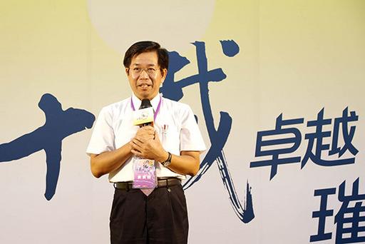 1.教育部部長潘文忠致詞。