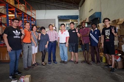 圖說二:馬來西亞學生實習場域