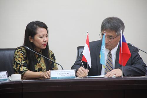 雲科大與Bali State Polytechnic簽約