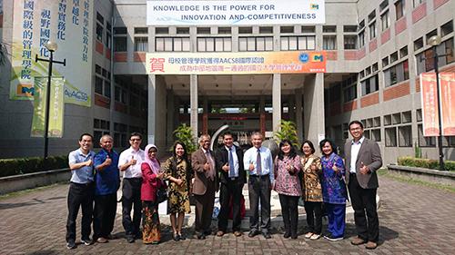 印尼Semarang State Polytechnic代表團參訪雲科大管理學院