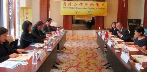 台灣評鑑協會與泰國「國家教育標準與品質評估局」進行雙認證協定