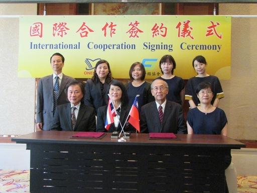 台灣評鑑協會與泰國「國家教育標準與品質評估局」簽署合作備忘錄