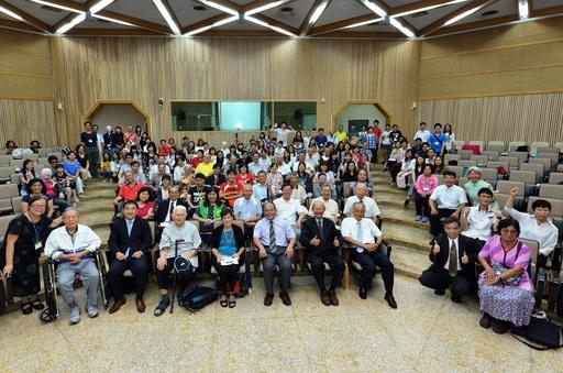 臺灣融合教育50週年慶吸引200多人熱鬧非凡