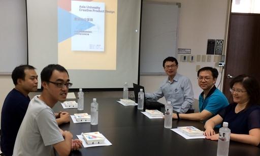 商設系龍希文老師介紹商設系的3D列印的教學經驗。