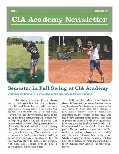 CTBC Internation Academy Week 4 Newsletter_1