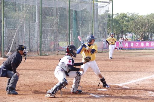 中信金融管理學院棒球隊1號邱智宏選手,近幾場賽事打擊都有不錯的表現