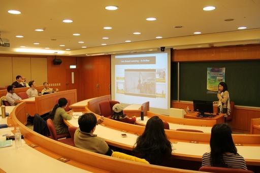 高醫呂佩穎教授受邀在亞大參與教師成長工作坊演講。