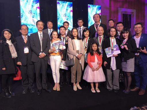 第10屆中東國際發明展台灣參展團與本處牟代表合影