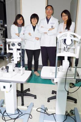 大葉大學視光系建置隱形眼鏡實驗室