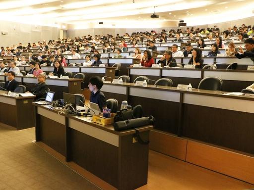 三百位校內外教師參與觀摩會
