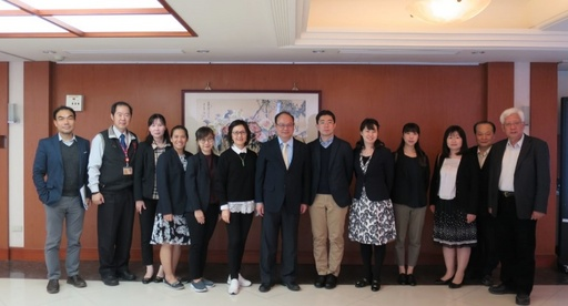 台評會、JUAA、ONESQA與龍華科技大學合影留念