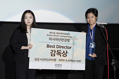 《2號球衣》導演巫虹儀贏得 首爾國際女性影展 亞洲短片競賽 「最佳導演獎」
