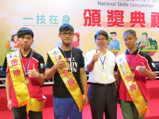 分署長林仁昭勉勵金牌選手再接再厲拿下國手資格