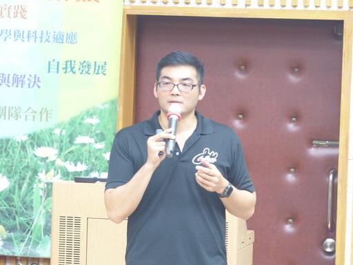 盧煥韋老師暢談「看得見的聲音」