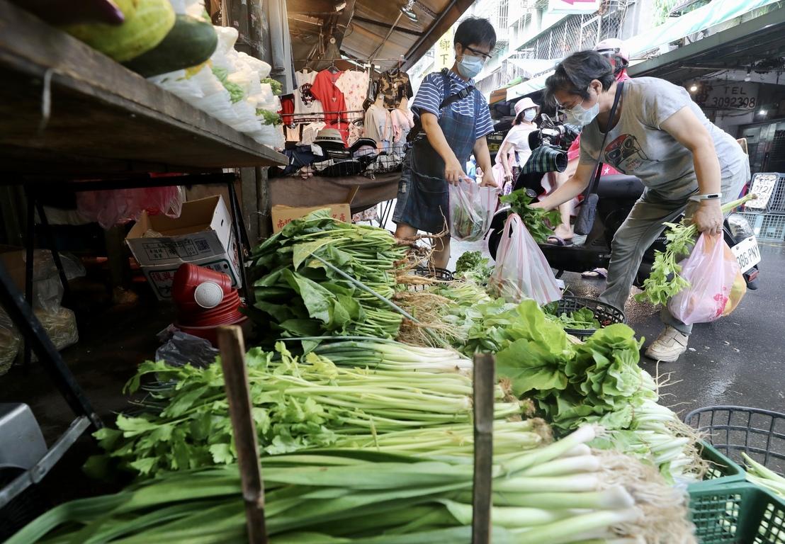 Vegetable market Taipei