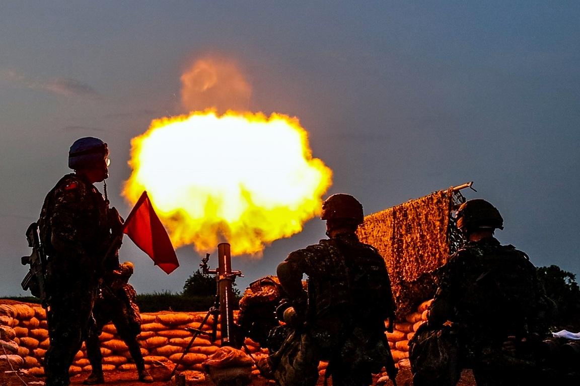 Anti-landing drill in Kinmen