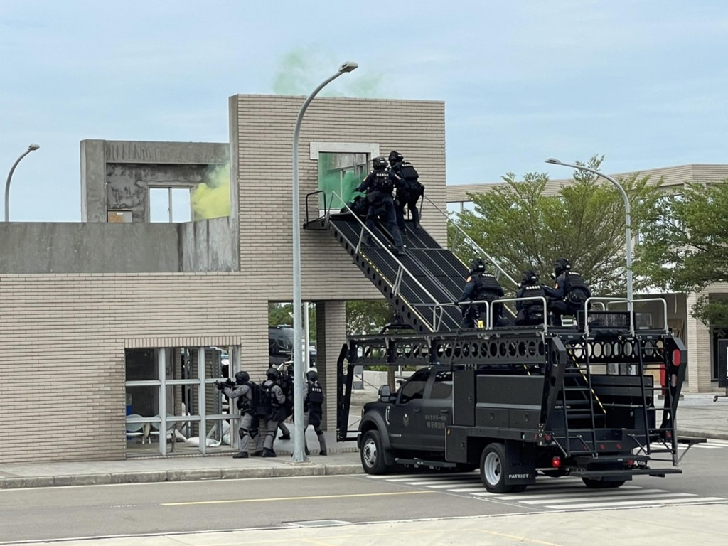 Elite police training