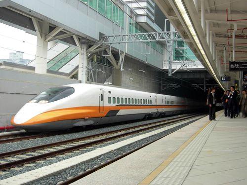A Taiwan High Speed Rail train