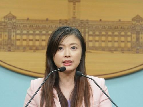 Presidential Office spokeswoman Garfie Li