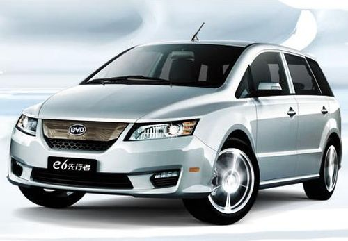 BYD e6. (From BYD Auto website)