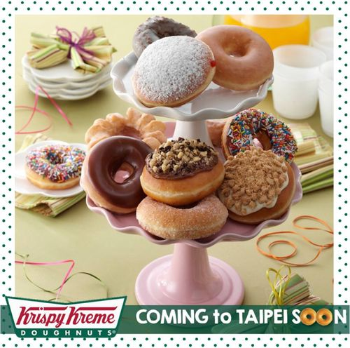 (From Krispy Kreme Taiwan