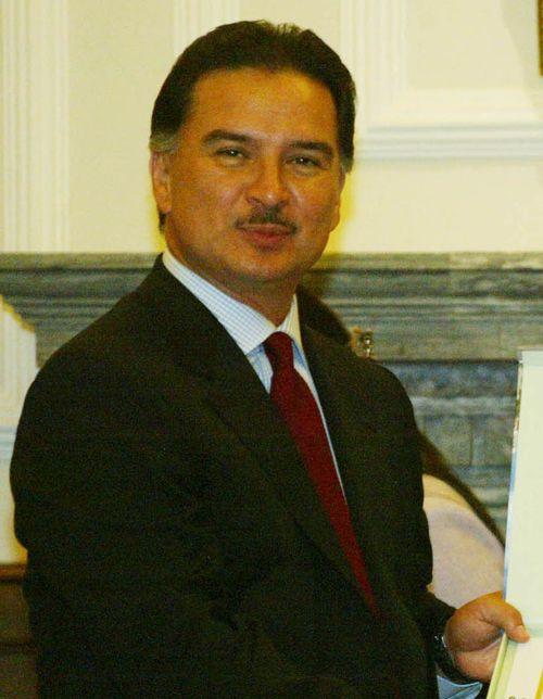 Fromer Guatemala President Alfonso Portillo. (CNA file photo)