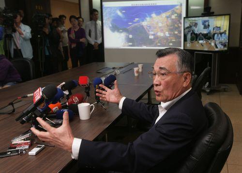 Formosa Ha Tinh Steel Corp. Chairman Lin Hsin-yi.