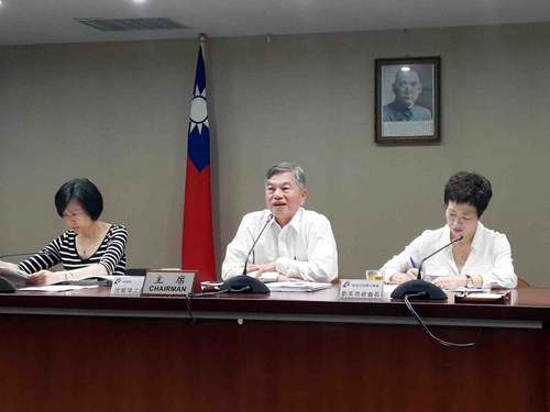 Lien Yu-ping (left)