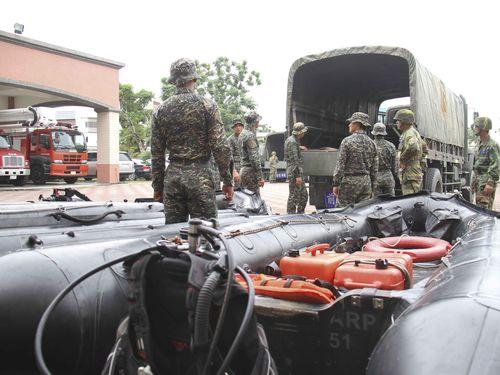Photo courtesy of the Republic of China Marine Corps