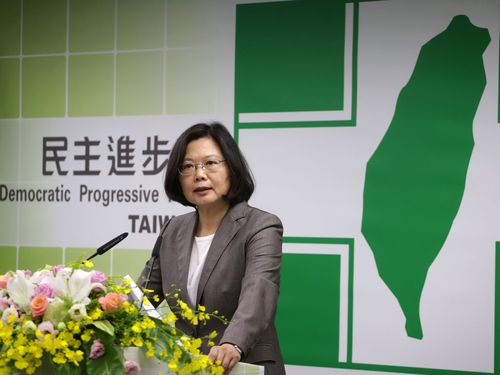DPP Chairwoman Tsai Ing-wen. (CNA file photo)
