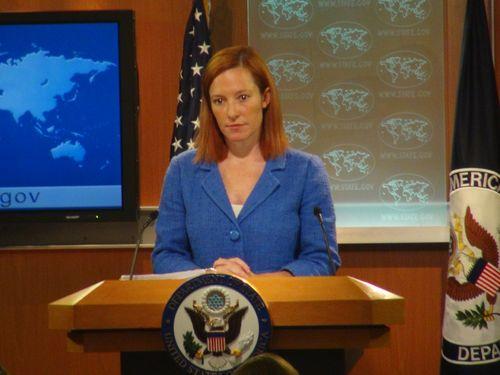 State Department spokeswoman Jen Psaki. (CNA file photo)