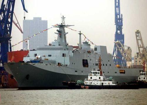 Type 071 Kunlun Shan-class (崑崙山艦) amphibious transport dock