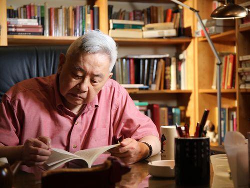 Yu Ying-shih, the recipient of the first-ever Tang Prize in Sinology and a professor emeritus of Chinese studies of Princeton University