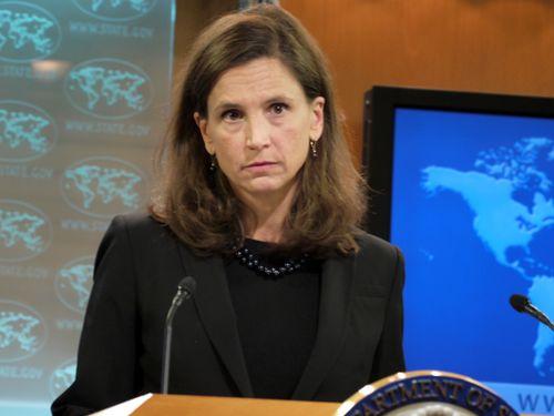 U.S. State Department spokeswoman Elizabeth Trudeau