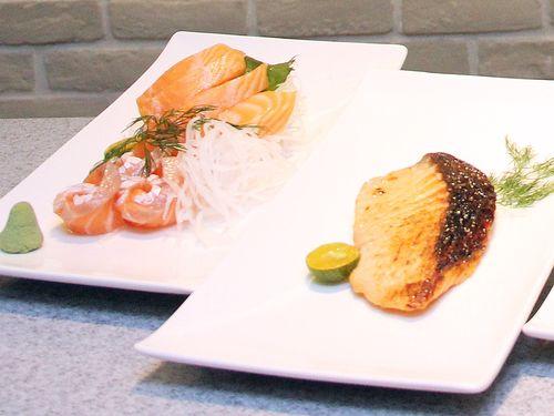 Non-GM salmon. (CNA file photo)