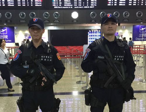 Photo courtesy of the Aviation Police Bureau